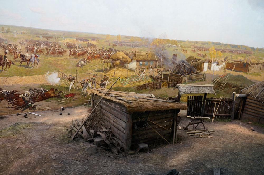 Музей панорама бородинская битва