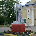 Monument to Lenin in Tuchkovo