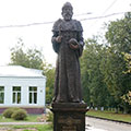 Monument to Ivan III in Kuzminki