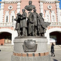 To the founders of Russian railways