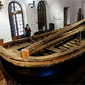 Museum-estate boat of Peter the Great