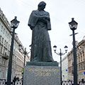 Monument to Nikolai Gogol - Saint Petersburg