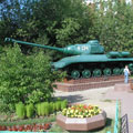 Memorial of 1st  tank corps