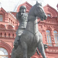The monument to Georgy Zhukov