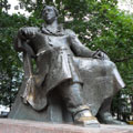 The monument to Ivan Krylov