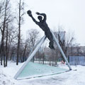 The monument to Lev Yashin