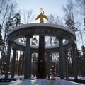 The monument-Kind Angel of Peace in Noginsk