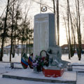 Monument in honor of the defenders of the motherland in Avdotyino