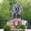 Memorial in honor of the soldiers of 144th rifle division and countrymen who were killed during the Second World War - Karinskoe